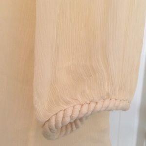Diane Von Furstenberg Tops - Diane Von Furstenberg Silk Blouse Peasant Top